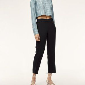 Aritzia Wilfred Darontal Cropped Dress Pant
